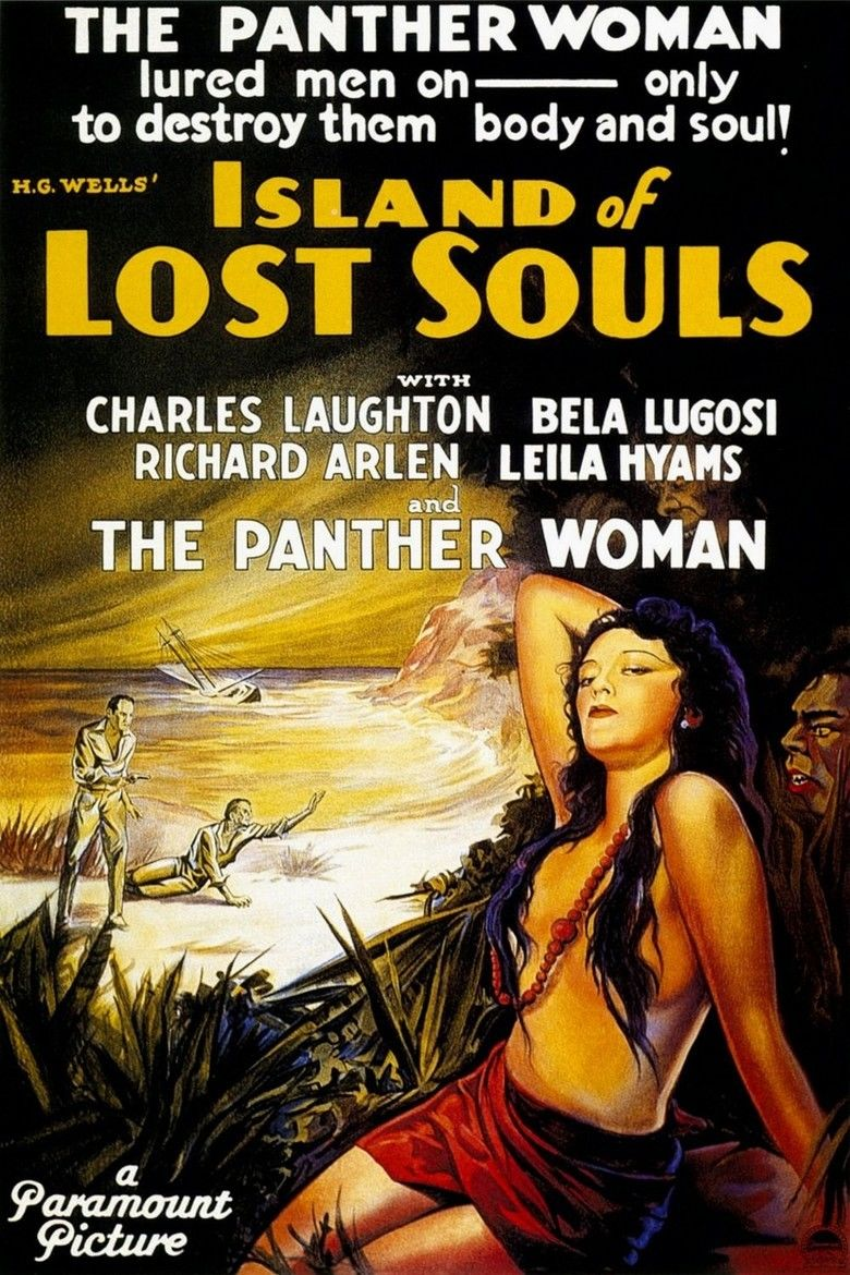 Island of Lost Souls (1932 film) movie poster
