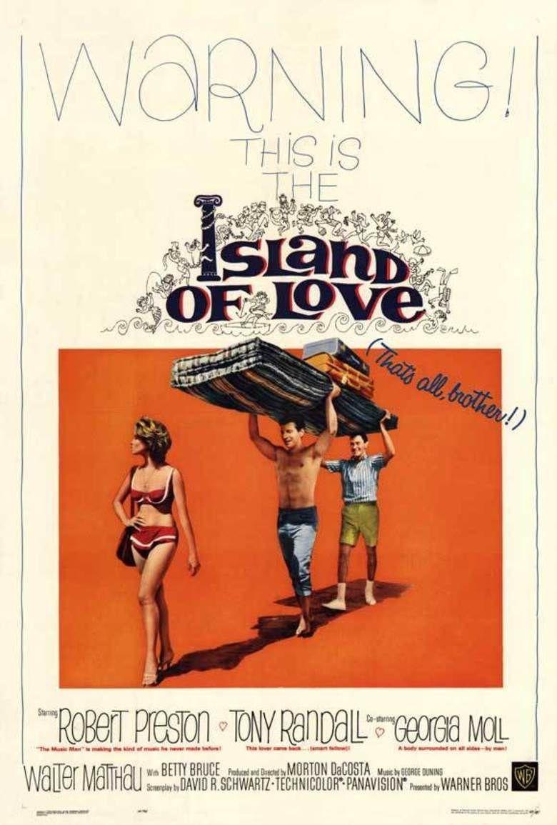 Island of Love (film) movie poster