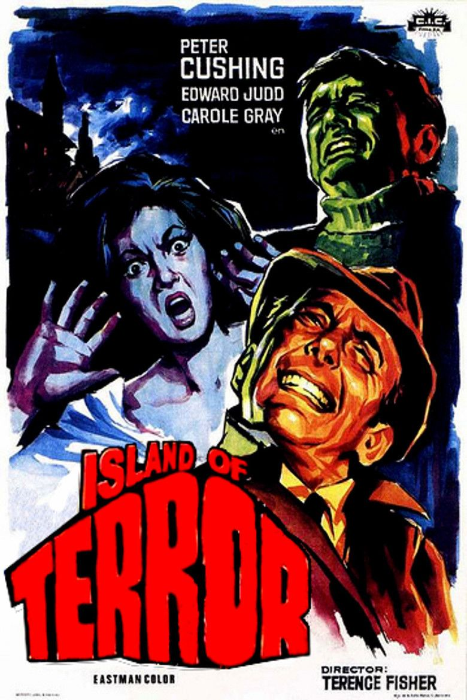 Island of Terror movie poster