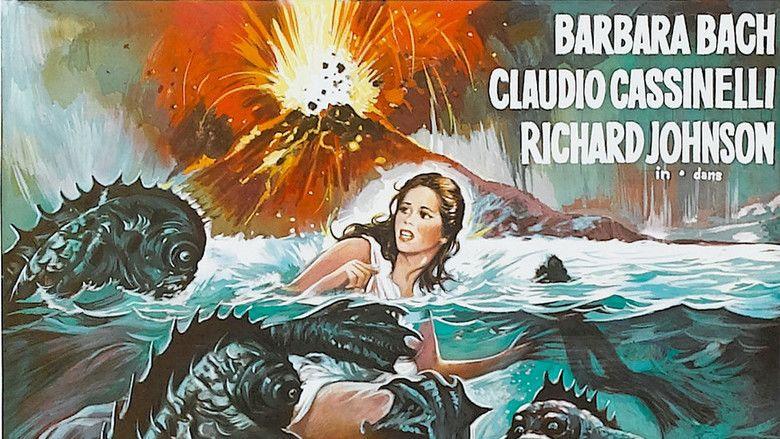 Island of the Fishmen movie scenes