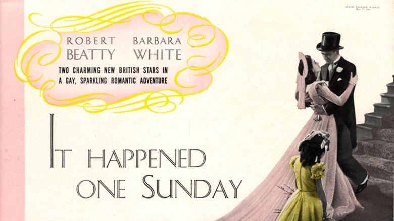 It Happened One Sunday movie scenes