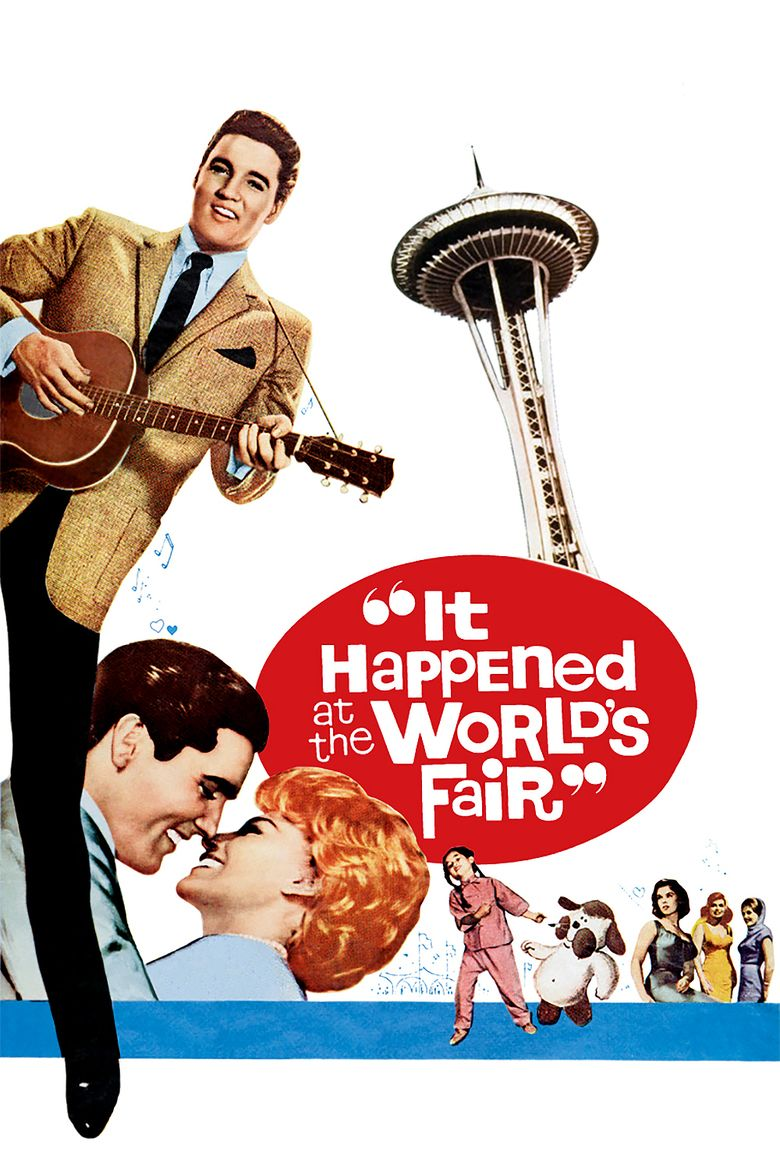 It Happened at the Worlds Fair movie poster