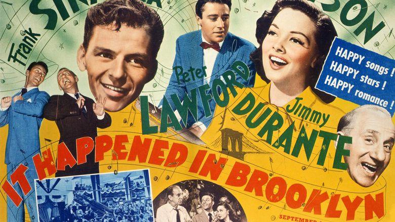 It Happened in Brooklyn movie scenes