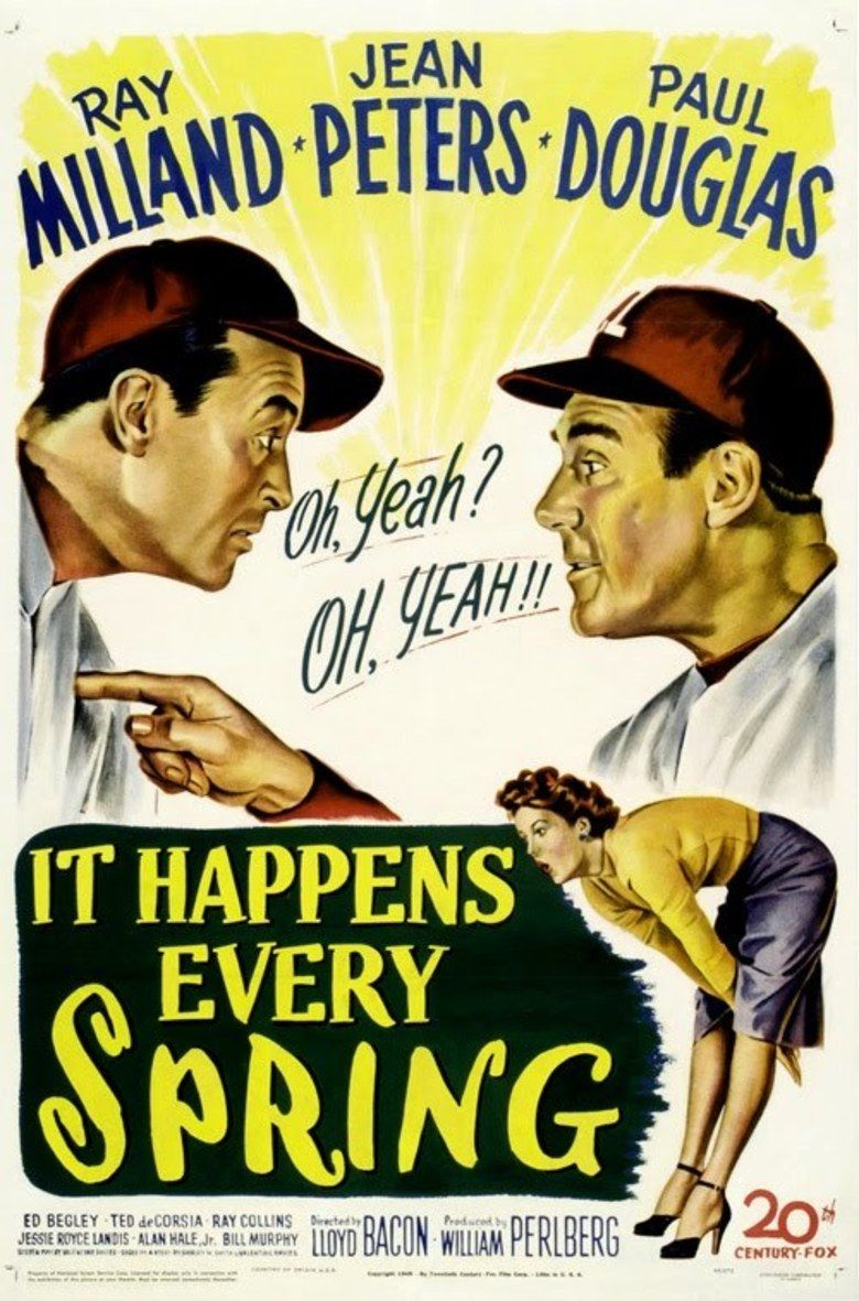 It Happens Every Spring movie poster