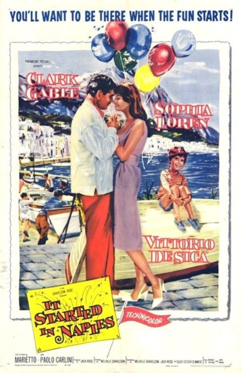 It Started in Naples movie poster