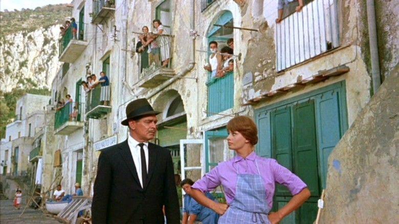 It Started in Naples movie scenes
