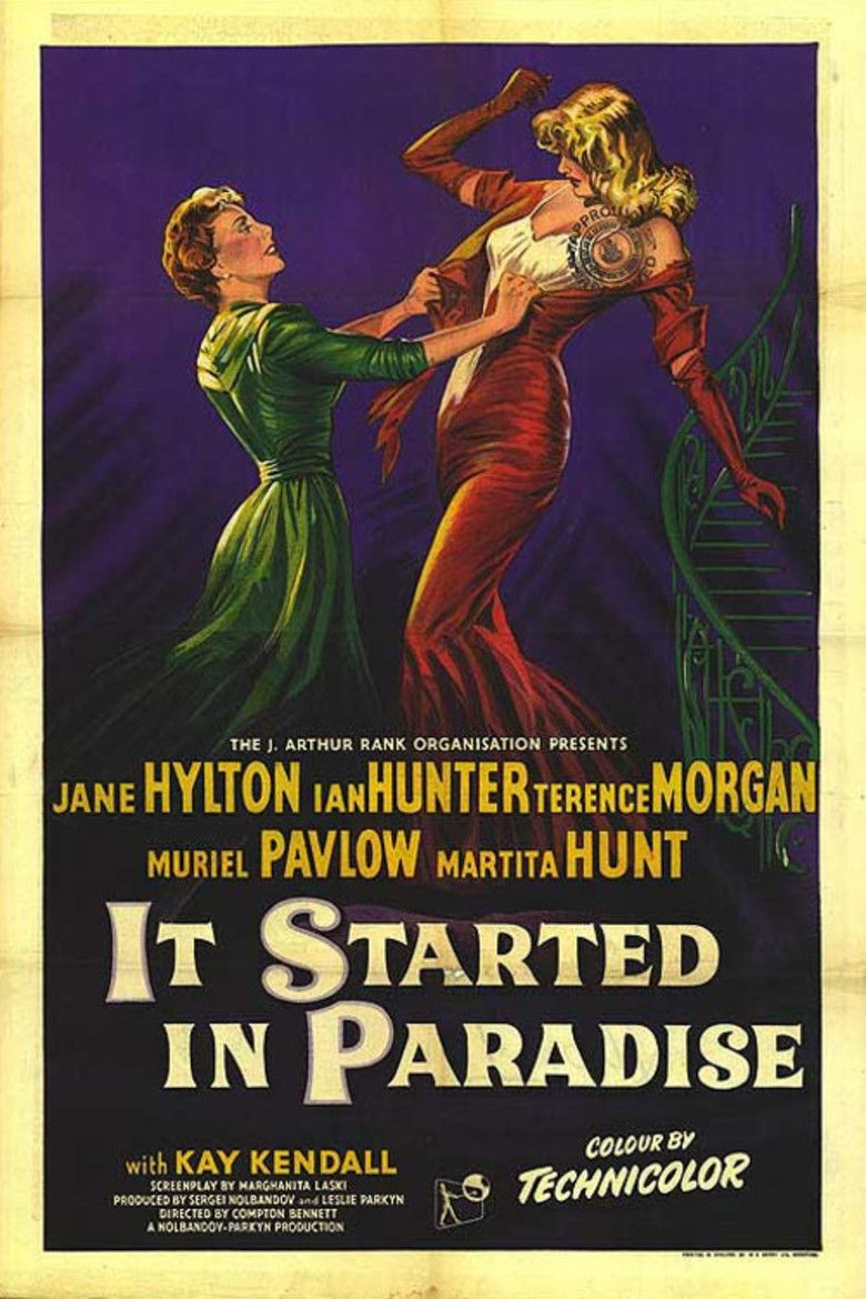 It Started in Paradise movie poster