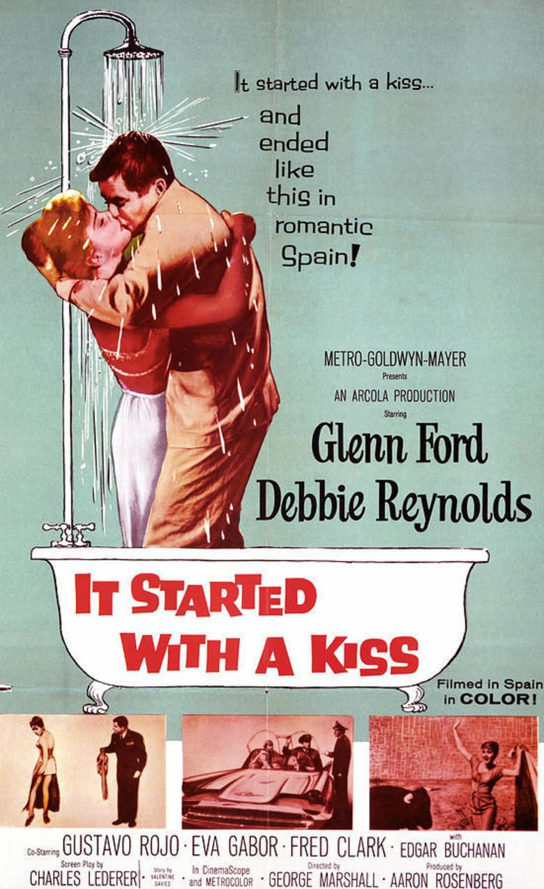 It Started with a Kiss (film) movie poster