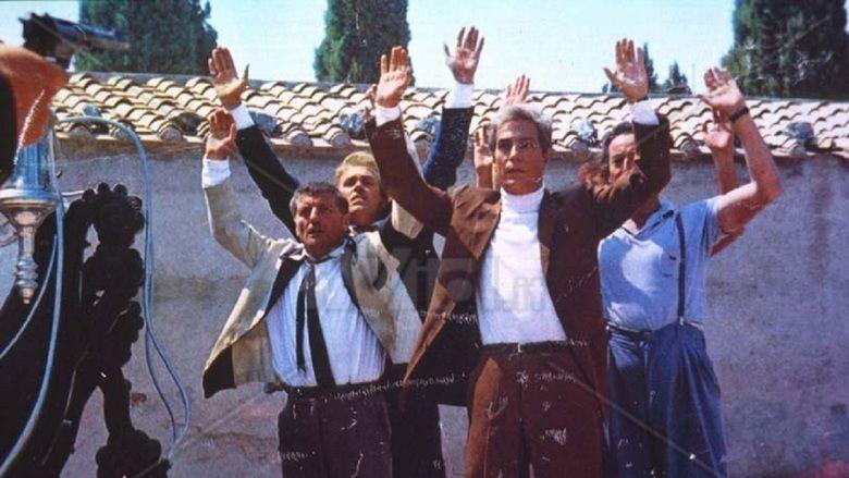 Italian Secret Service movie scenes