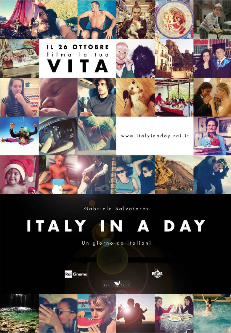 Italy in a Day movie poster