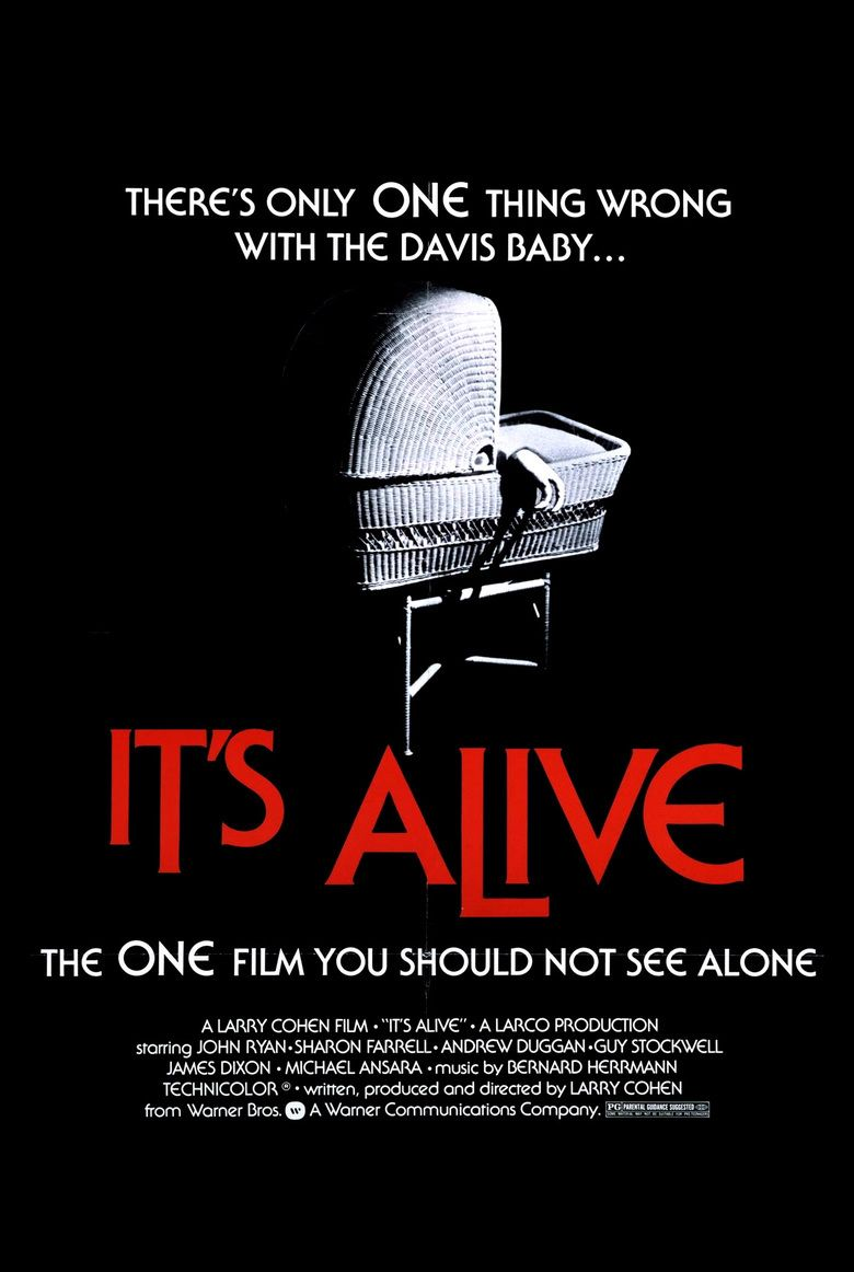 Its Alive (1974 film) movie poster