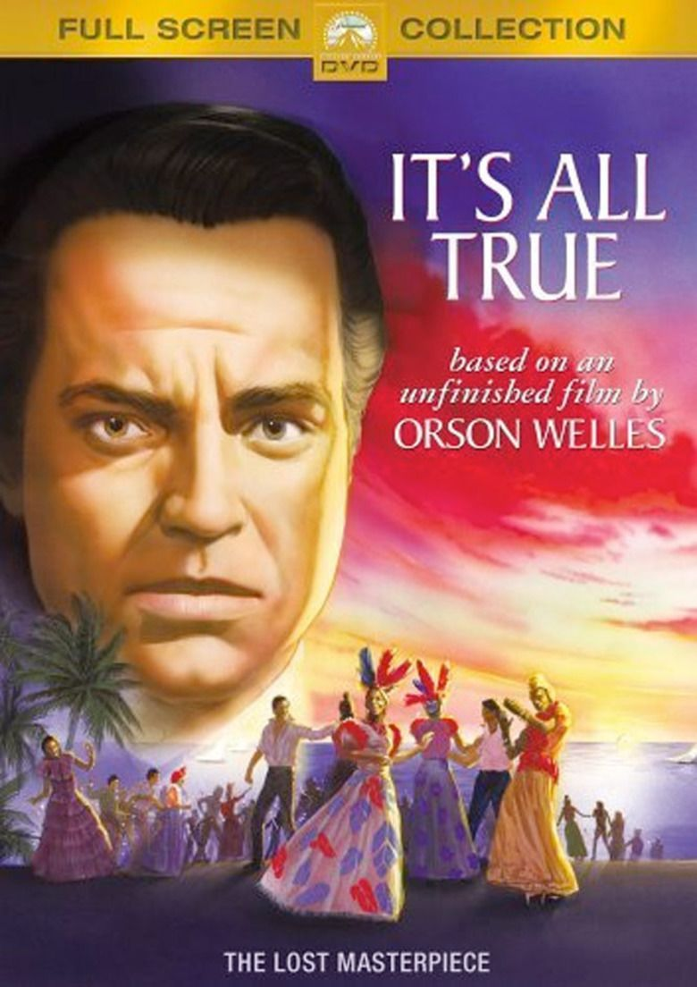 Its All True (film) movie poster