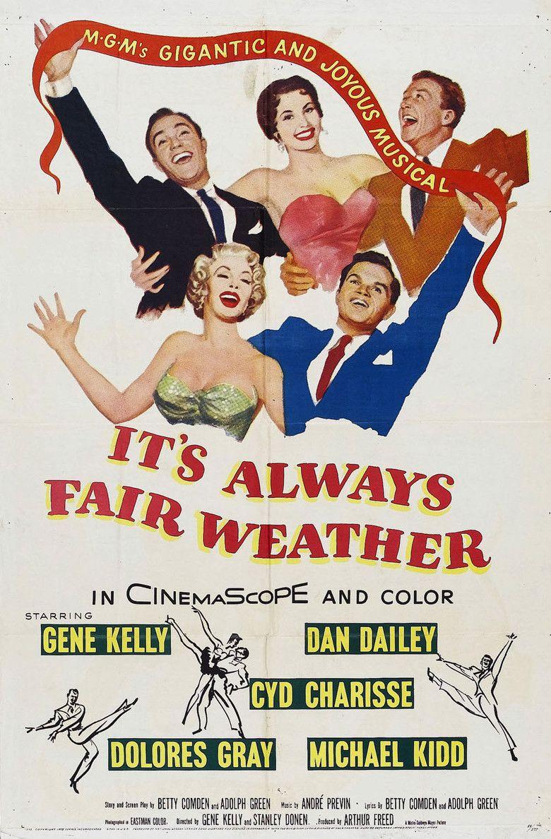 Its Always Fair Weather movie poster