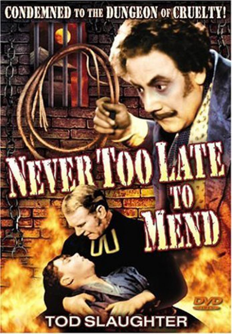 Its Never Too Late to Mend movie poster