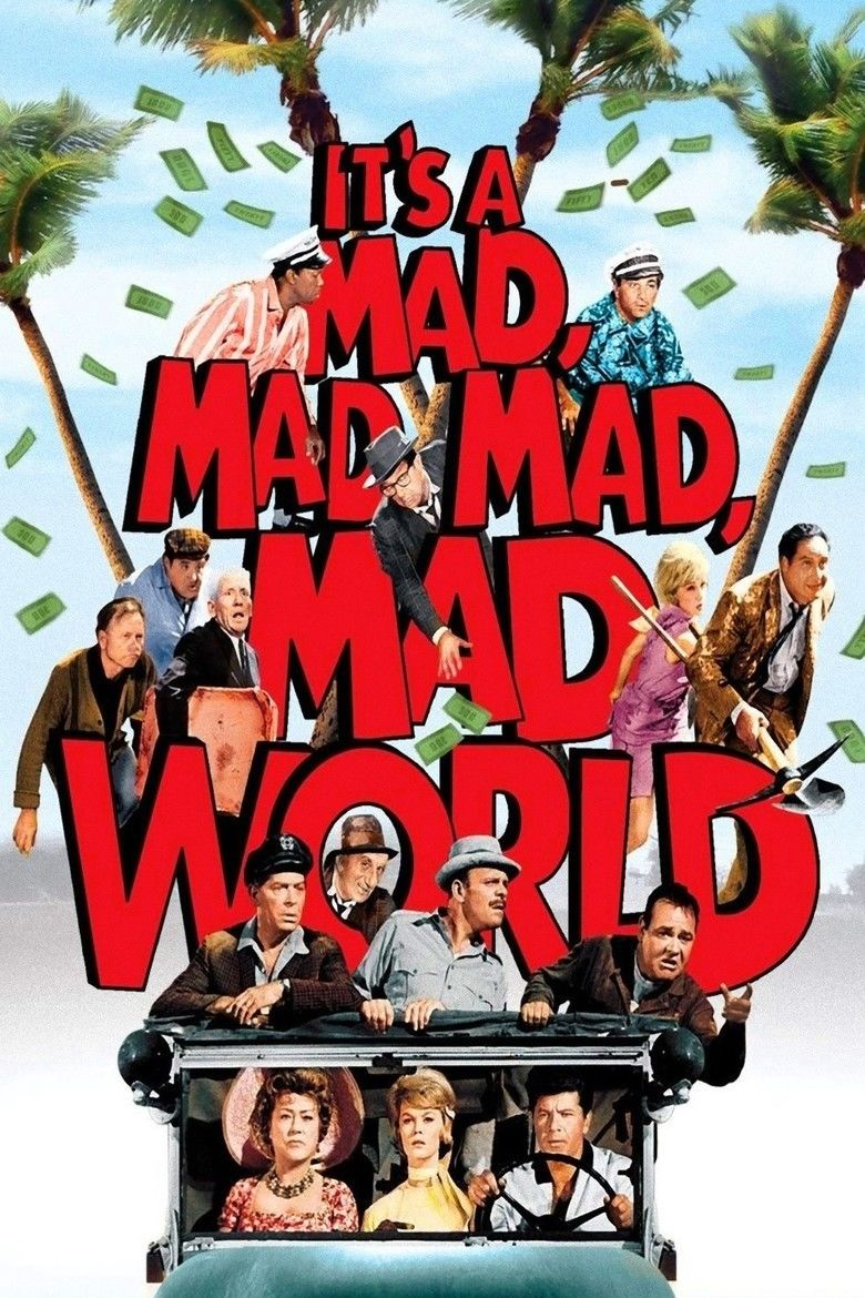 Its a Mad, Mad, Mad, Mad World movie poster
