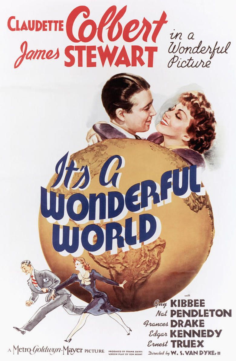 Its a Wonderful World (1939 film) movie poster