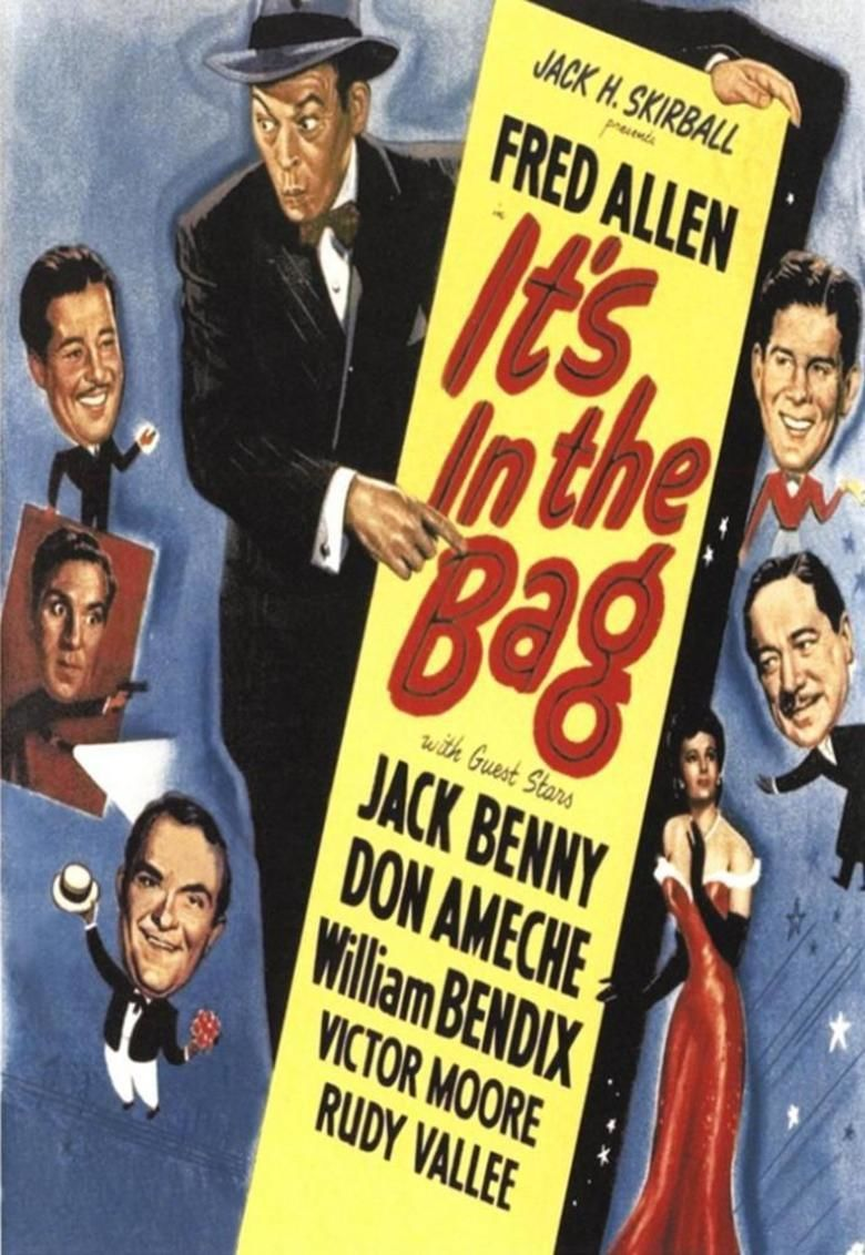Its in the Bag! movie poster