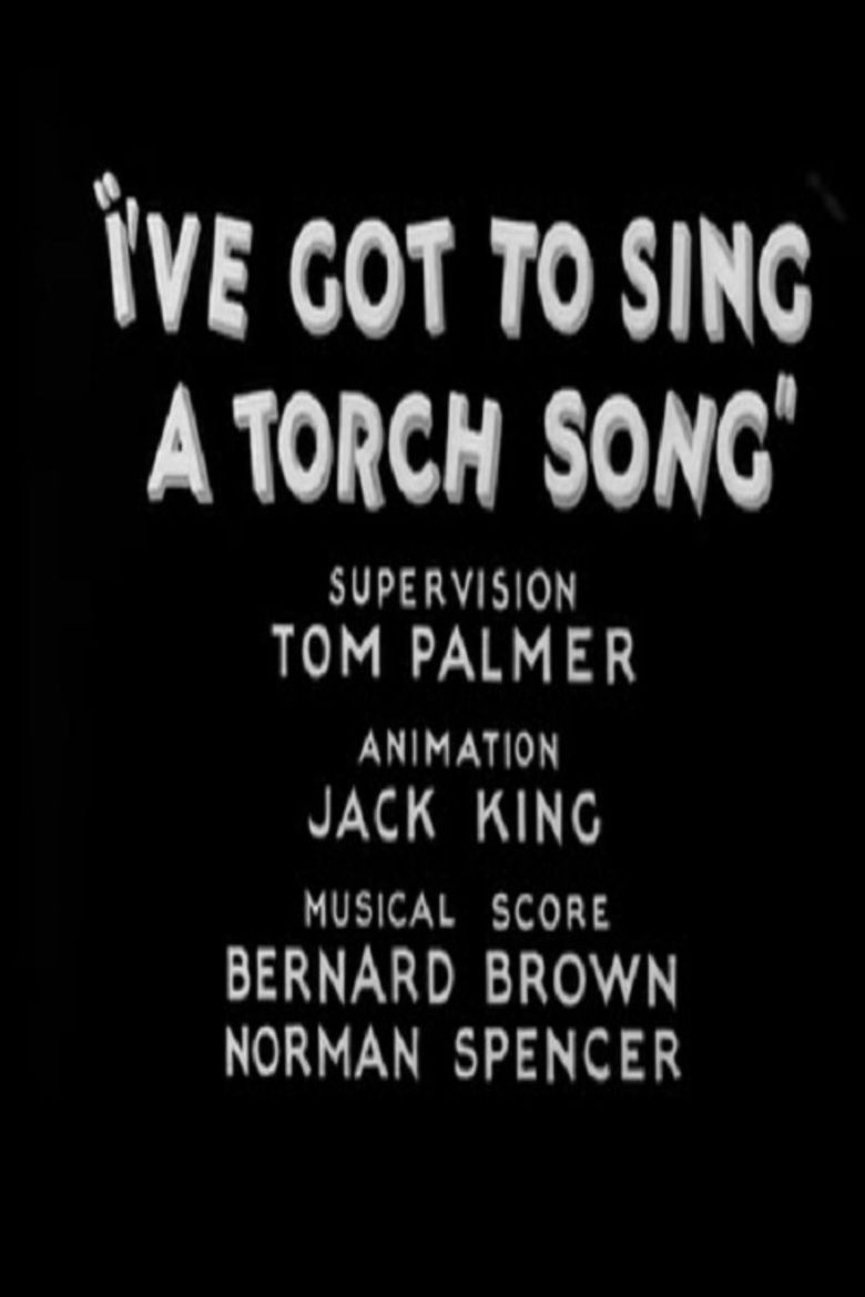 Ive Got to Sing a Torch Song movie poster