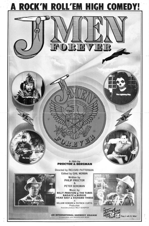 J Men Forever movie poster
