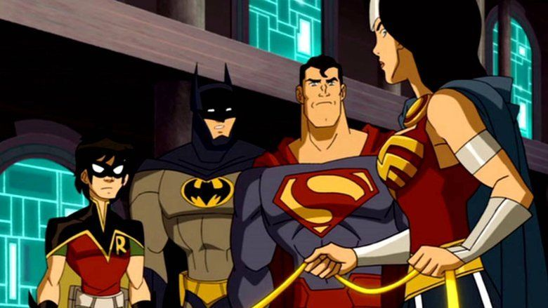 JLA Adventures: Trapped in Time movie scenes