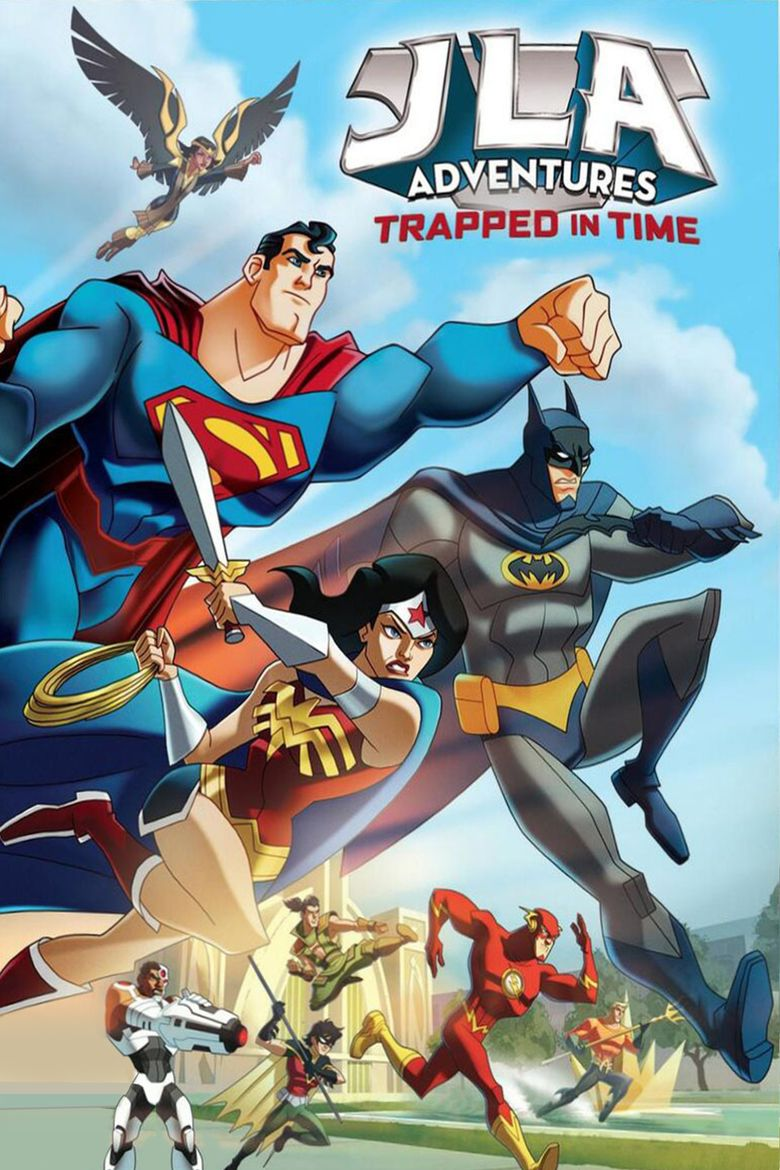 JLA Adventures: Trapped in Time movie poster