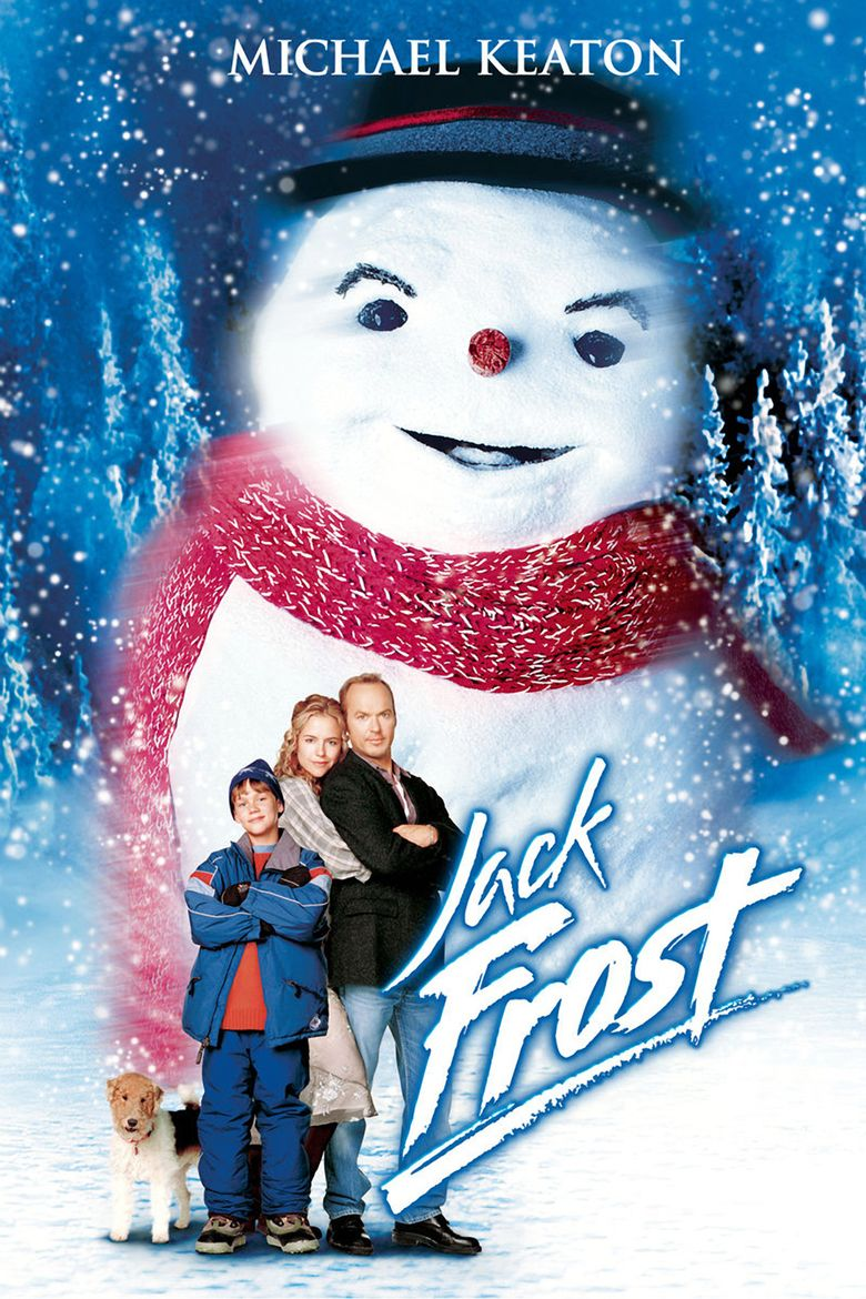 Jack Frost (1998 film) movie poster
