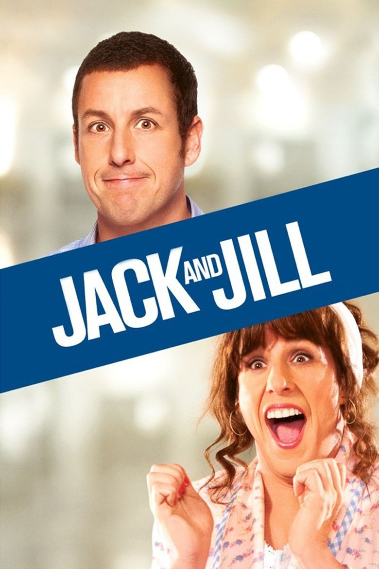 Jack and Jill (2011 film) movie poster
