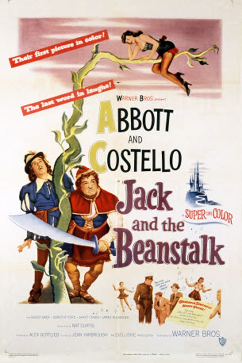Jack and the Beanstalk (1952 film) movie poster