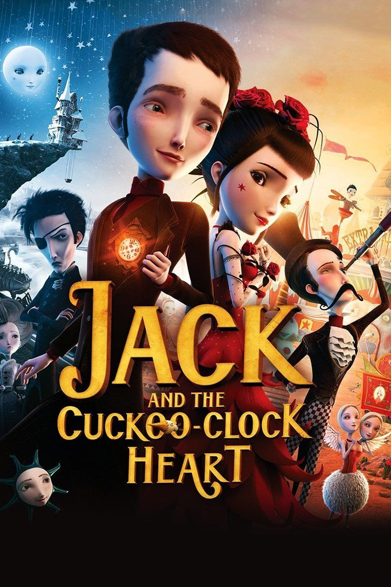 Jack and the Cuckoo Clock Heart movie poster