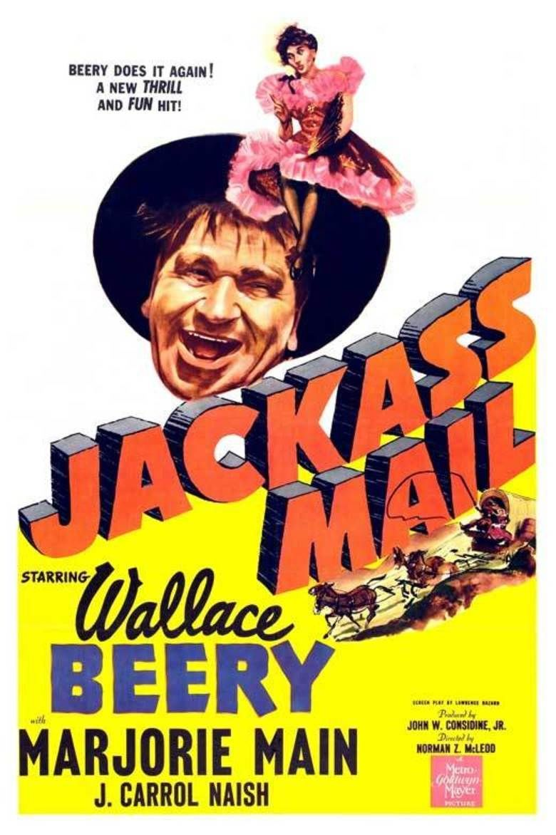 Jackass Mail movie poster