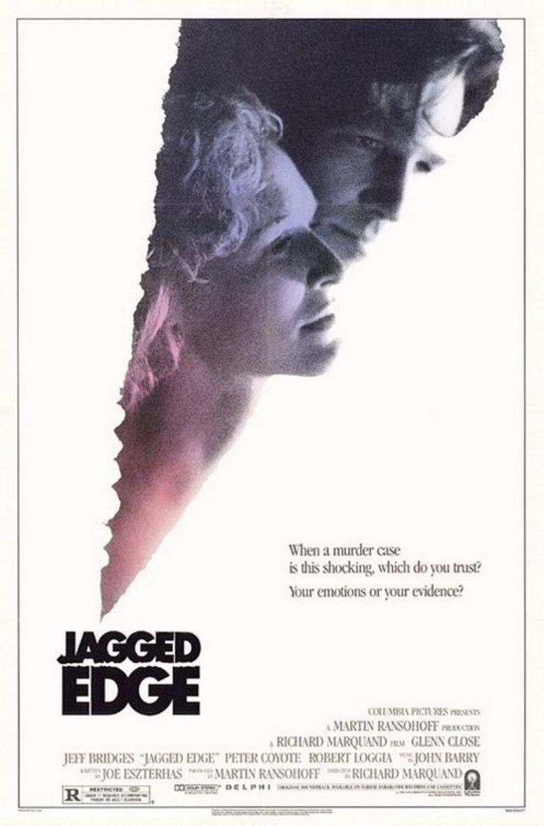 Jagged Edge (film) movie poster