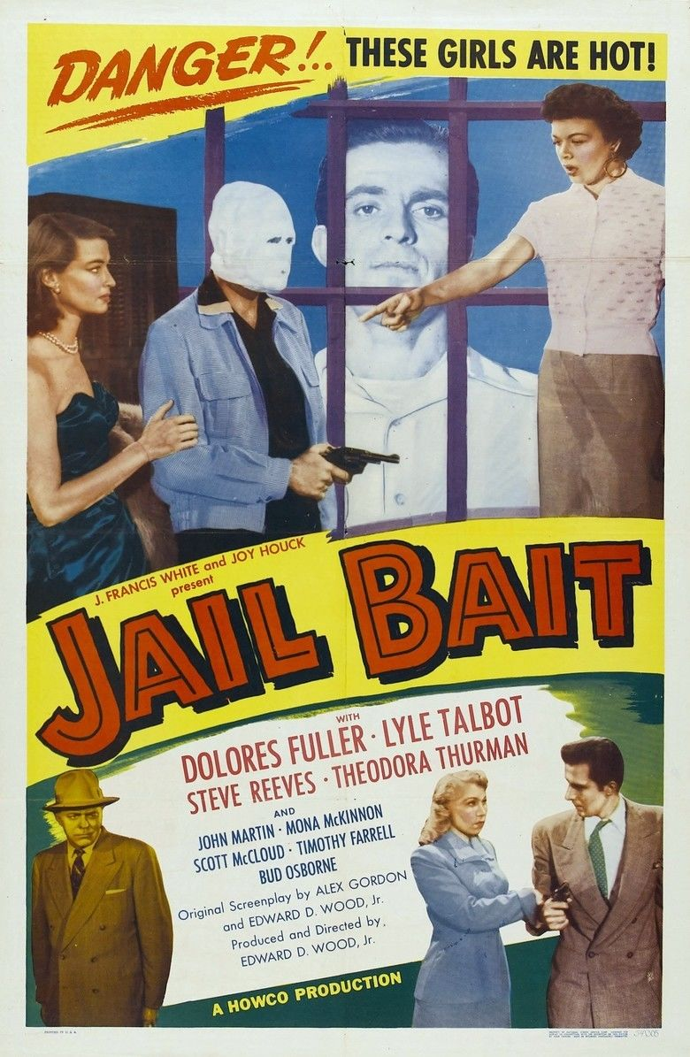 Jail Bait (1954 film) movie poster