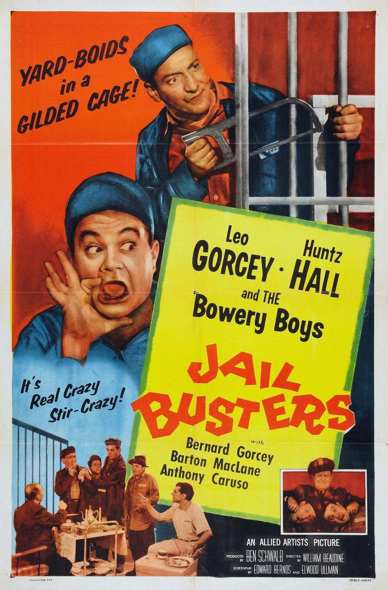 Jail Busters movie poster