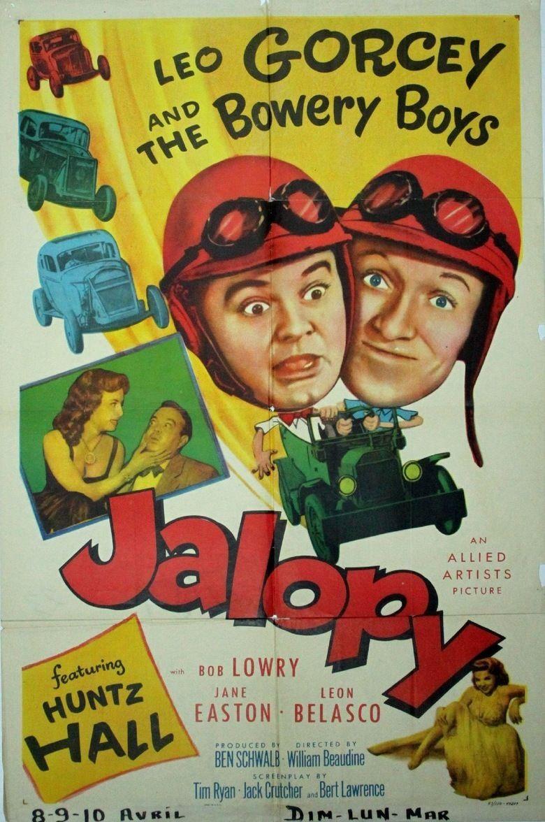 Jalopy (film) movie poster