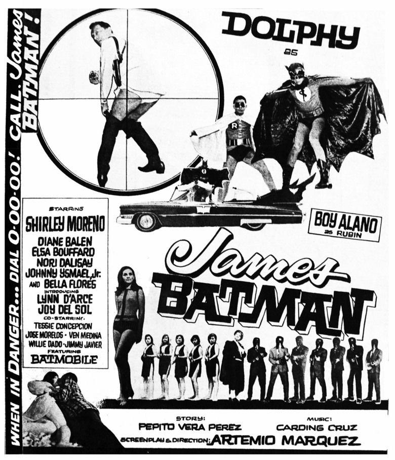 James Batman movie poster