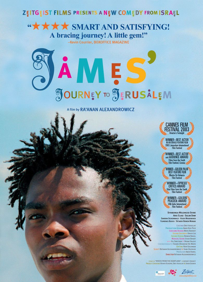 James Journey to Jerusalem movie poster