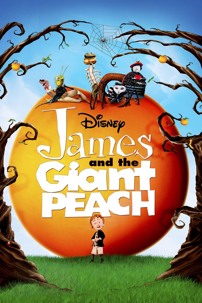 James and the Giant Peach (film) movie poster