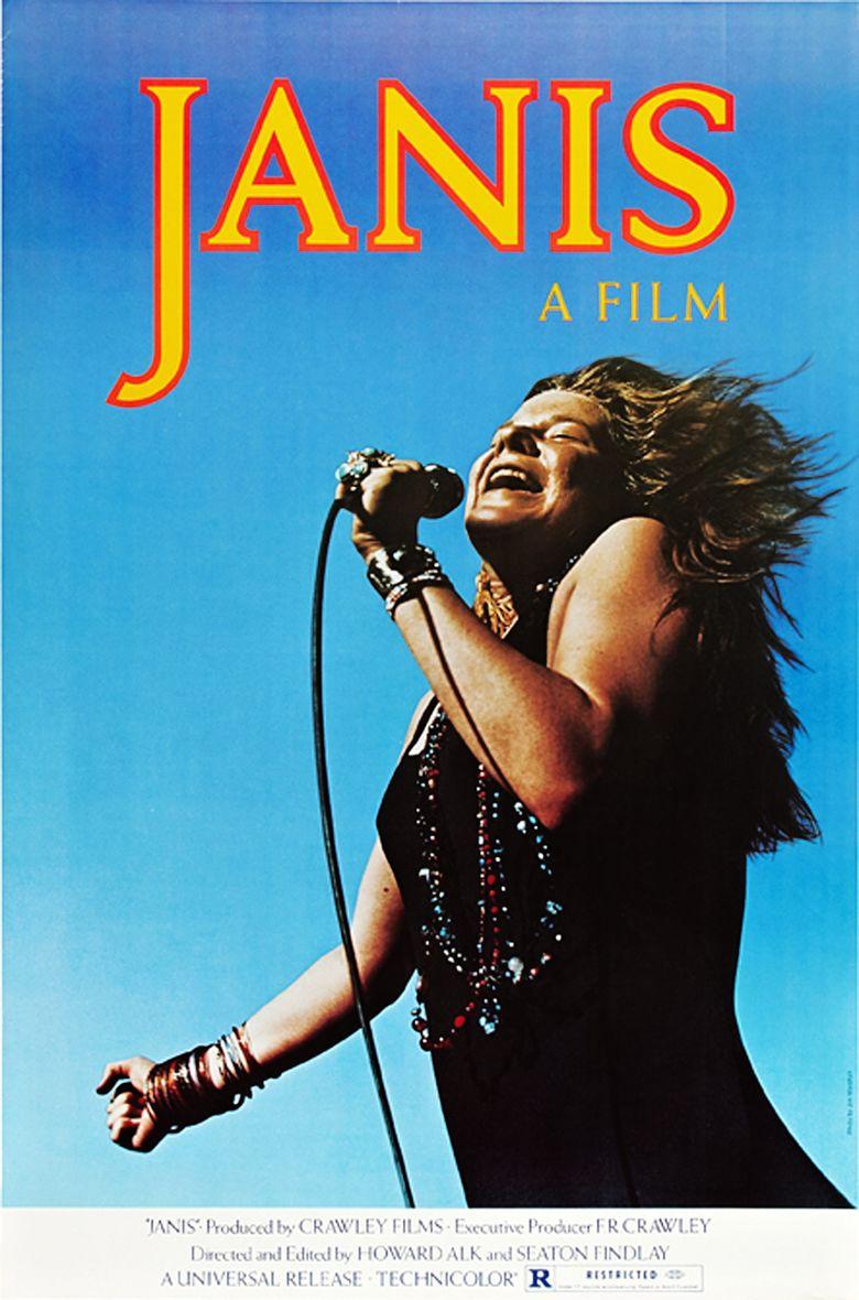 Janis (film) movie poster