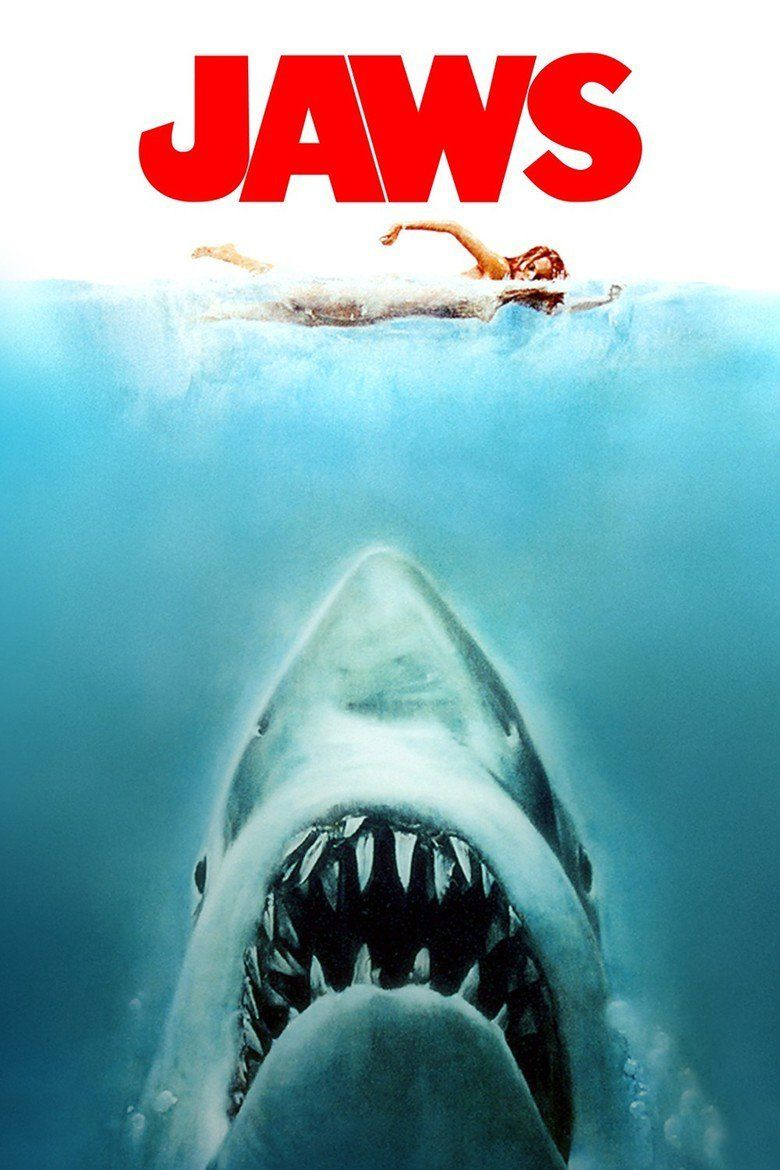 Jaws (film) movie poster