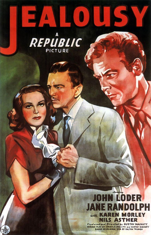 Jealousy (1945 film) movie poster