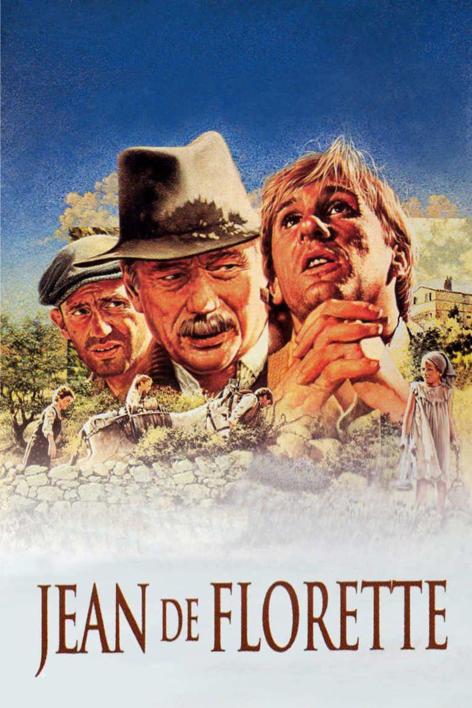 Jean de Florette movie poster