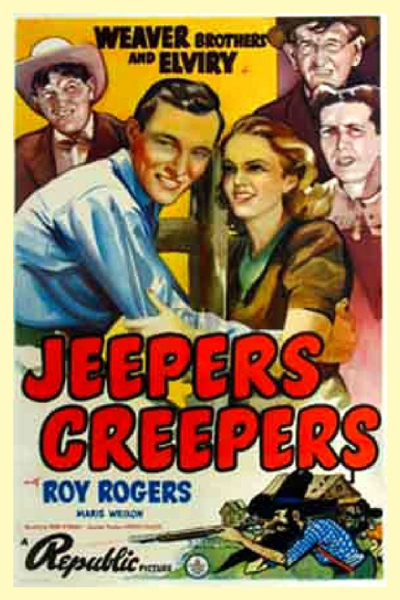 Jeepers Creepers (1939 western film) movie poster