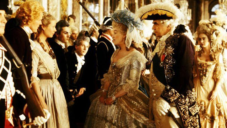 Jefferson in Paris movie scenes