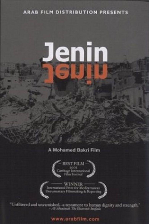 Jenin, Jenin movie poster