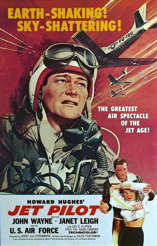 Jet Pilot (film) movie poster