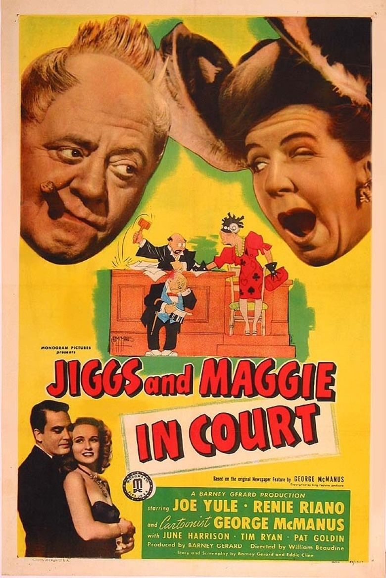 Jiggs and Maggie in Court movie poster