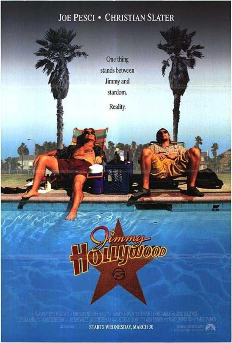 Jimmy Hollywood movie poster