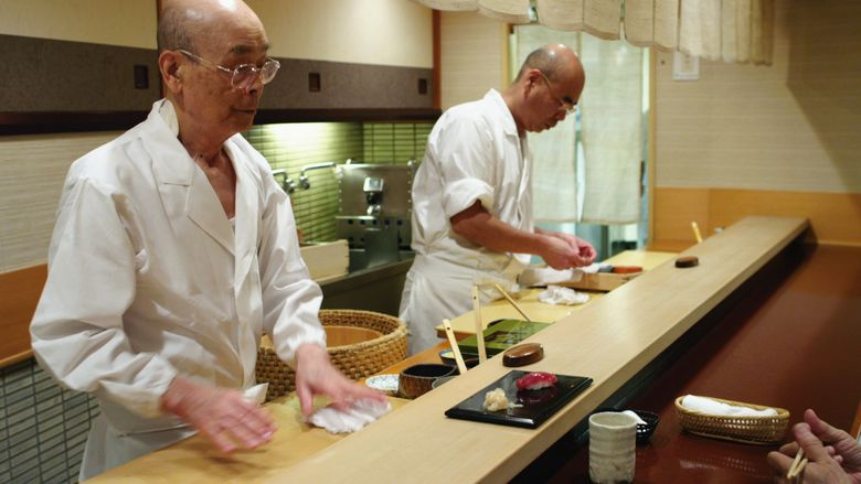 Jiro Dreams of Sushi movie scenes