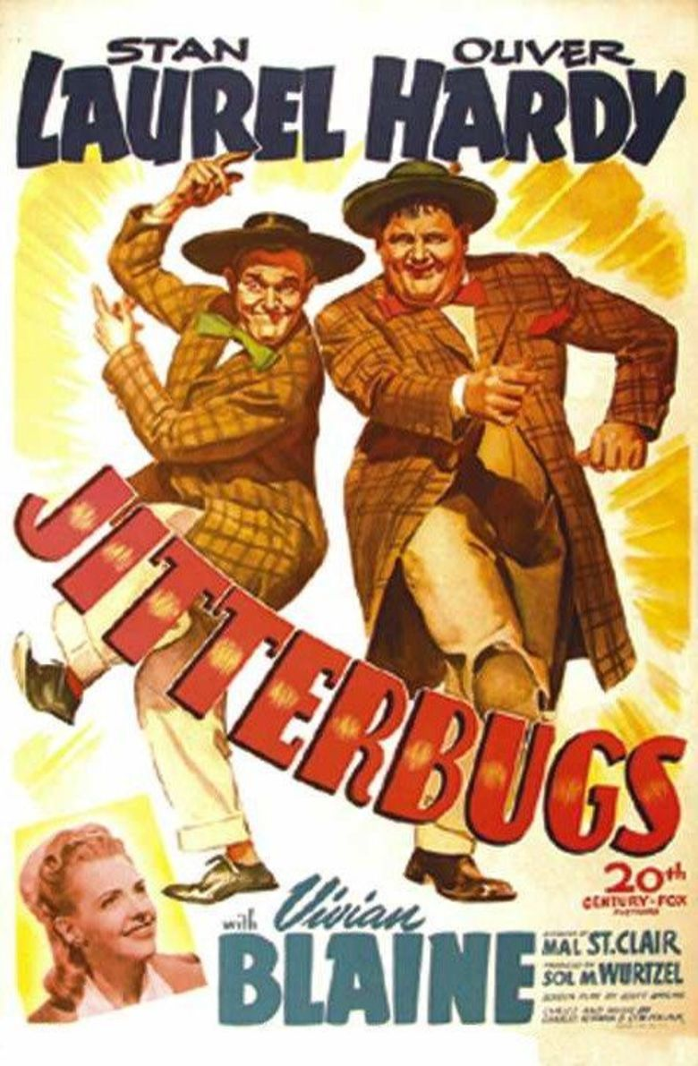 Jitterbugs movie poster