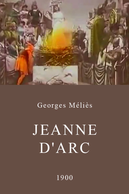 Joan of Arc (1900 film) movie poster
